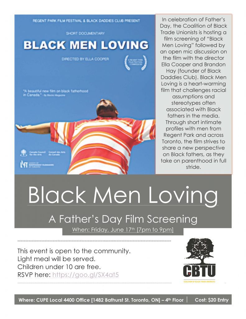 Black Men Loving